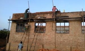 Aufbau des Schulgebäudes