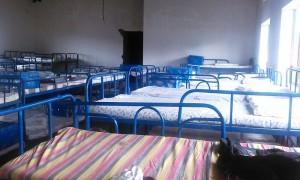 Schlafsaal von innen